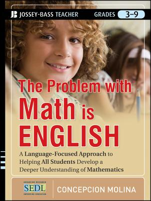 The Problem with Math Is English By Molina, Concepcion